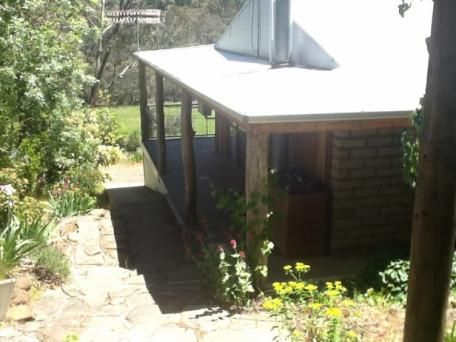 135 Elliott's Way, Tumbarumba (out towards Tooma), 12 acres, 2 bedroom mud brick main house, insulated shed, separate flat, dam, river, fire-fighting stations, $350000.