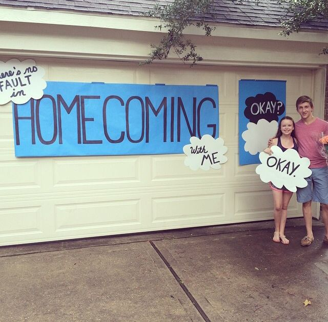 So my brother's best friend may have had the best homecoming proposal ever
