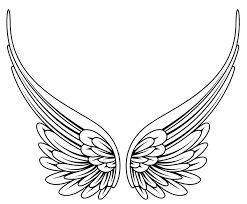 draw angel wings - Google Search