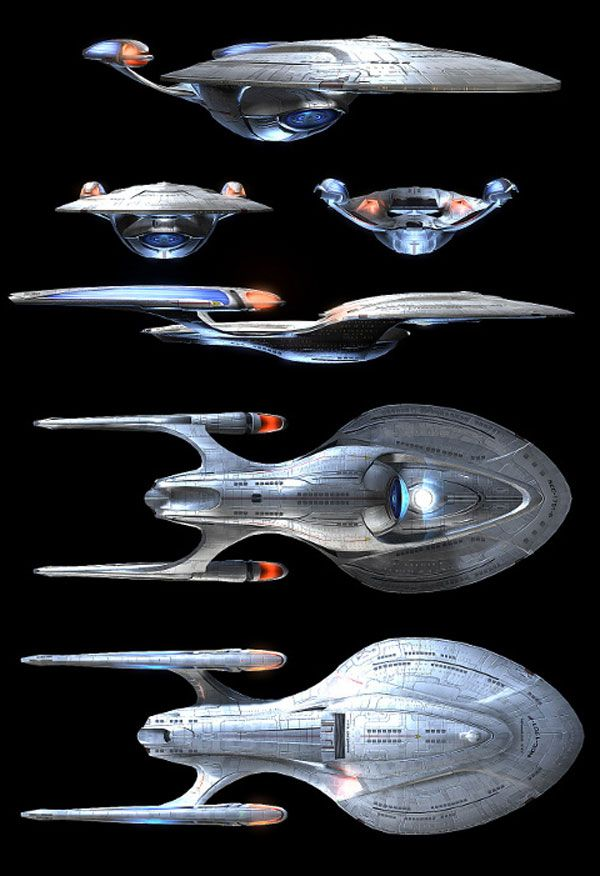 The New Enterprise looks a lot like Voyager  And new cars look a lot like old cars. There's only so many design possibilities.   http://johnpirilloauthor.blogspot.com/