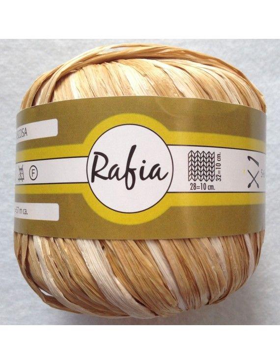 RAFIA 100% VISCOSA MIX SABBIA N°335