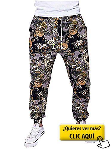 Pantalones de Chándal Pantalones Deportivos... #chandal