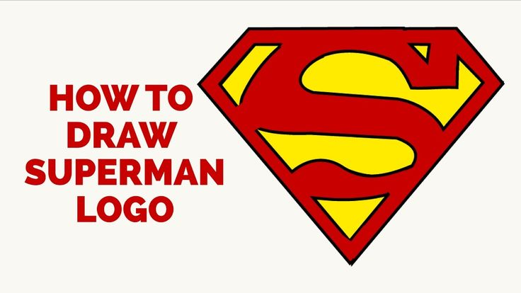 Learn How to Draw a Superman Logo: Easy Step-by-Step Drawing Tutorial for Kids and Beginners. #Superman #Logo #drawingtutorial #easydrawing See the full tutorial at https://easydrawingguides.com/how-to-draw-superman-logo/.