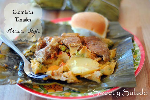 Colombian Tamales (Arriero Style) // Tamales Colombianos (Estilo Arriero)