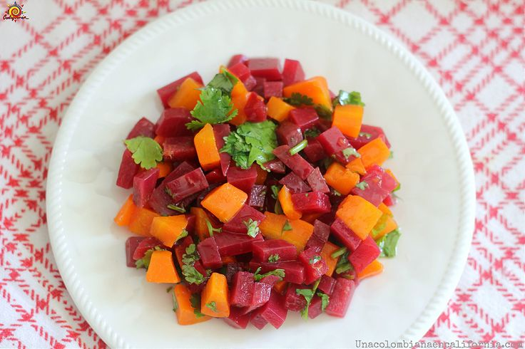 M s de 1000 ideas sobre recetas de ensalada de remolacha - Ensalada de zanahorias ...