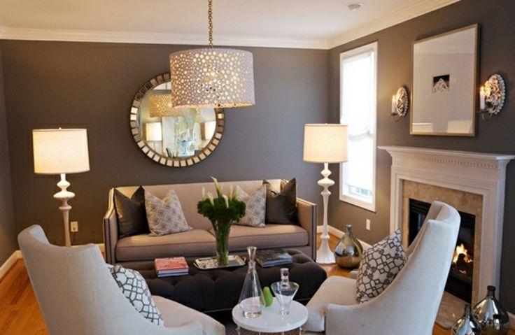 dekoration ideen wohnzimmer beeindruckende wohnzimmer dekoration ... - Wohnzimmer Deko Silber