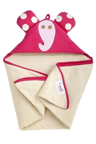 3 Sprouts Elephant Hooded Towel    Price: $38.95    Description:    Irresistibe Elephant Hooded Towel    This super cute hooded towel by 3 Sprouts will have your little one scrambling to get out of the bath!