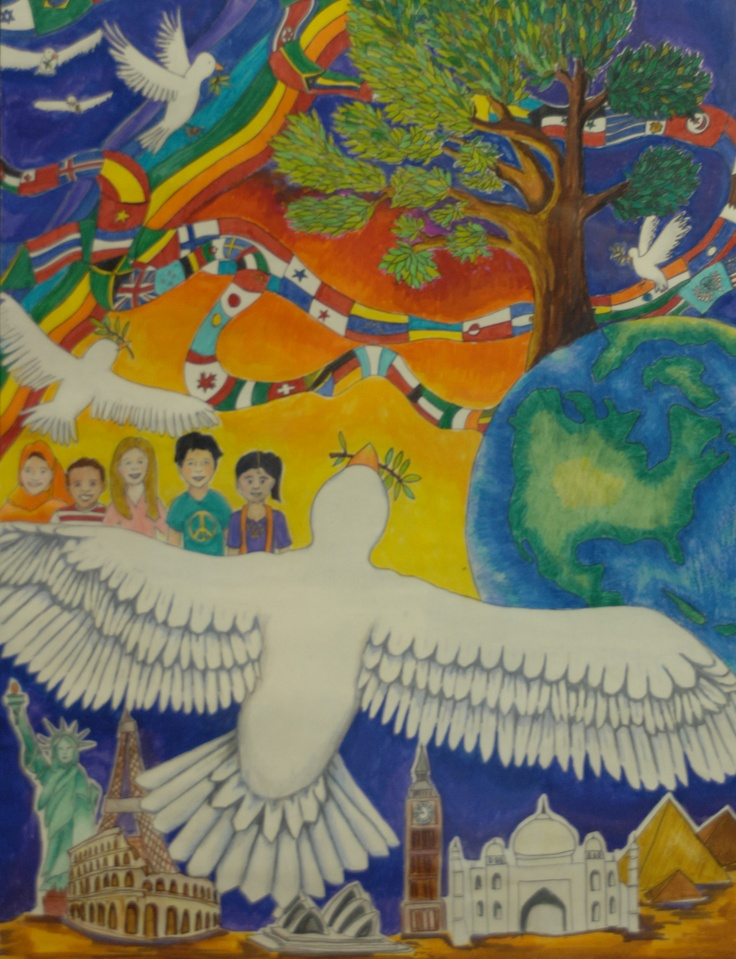 Finalist from Canada: Lions Clubs International 2012-2013 Peace Poster Contest