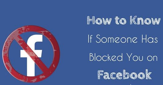 how to tell who has blocked me on facebook