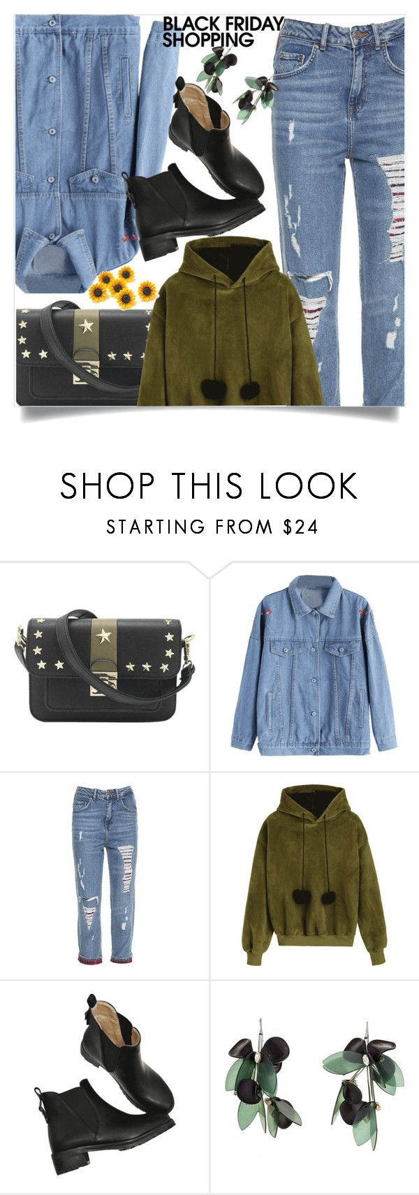 """""""Ripped denim pants"""" by mell-2405 ❤ liked on Polyvore featuring Tommy Hilfiger and Marni"""