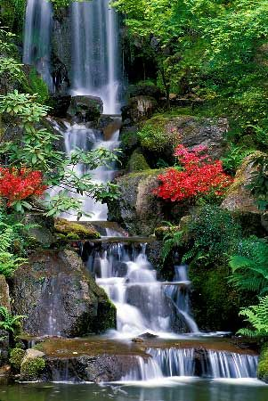 32 best images about Japanese Garden Waterfalls on
