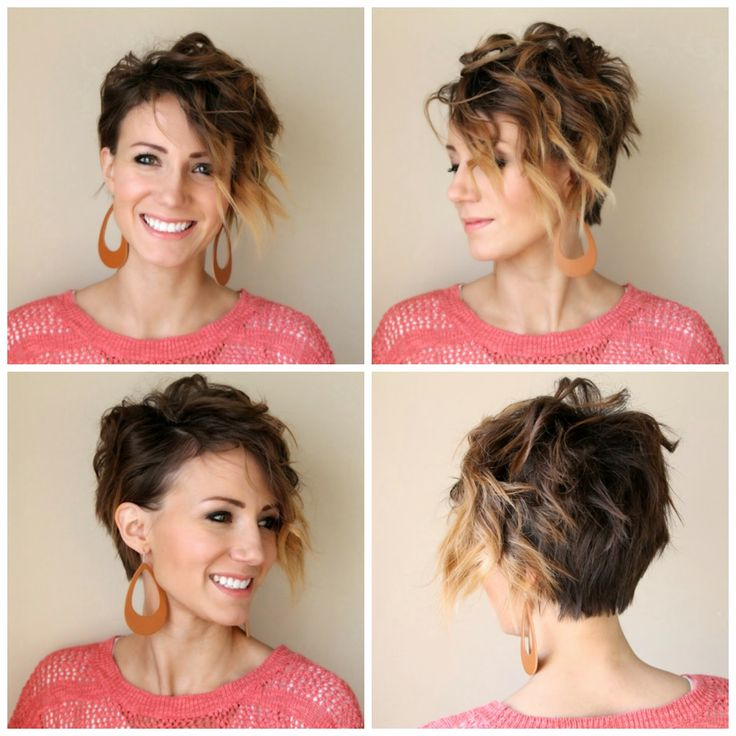 How to curl a long pixie- tutorial by One Little Momma