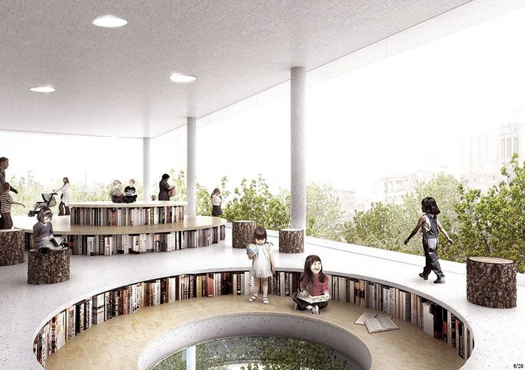 jaja architects - Between Books and Trees