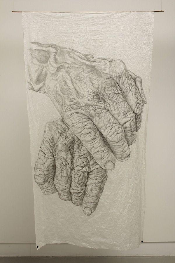 Highly Detailed Drawings of Aging Hands - My Modern Metropolis