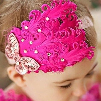 dribbleanddrool - Stunning Dark Pink Feather Headband, $9.00 (http://www.dribbleanddrool.com.au/stunning-dark-pink-feather-headband/)