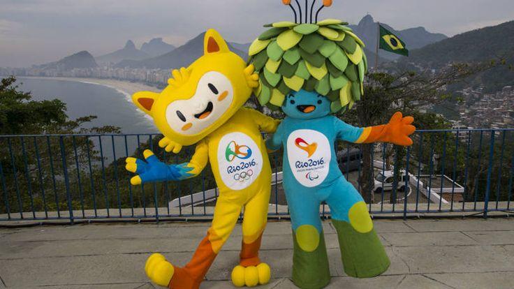 Mascotes das Olimpíadas de 2016