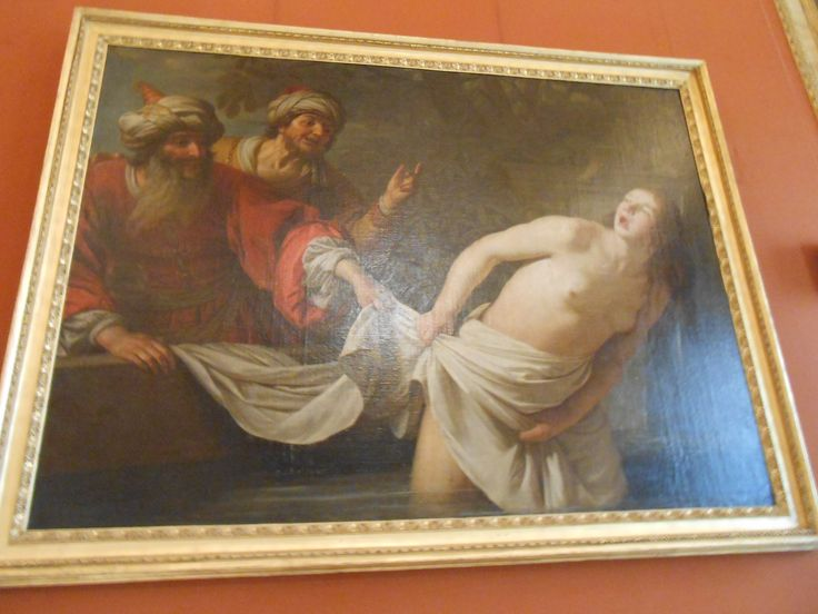 Bob recognises this painting as the rape of Susanna, from the apocryphal part of the bible book Daniel. The detail on this painting is magnificent, even though the painter, Peter Paul Rubens, isn't that well-known.