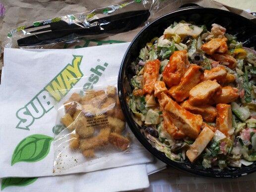 Subway S Buffalo En Salad