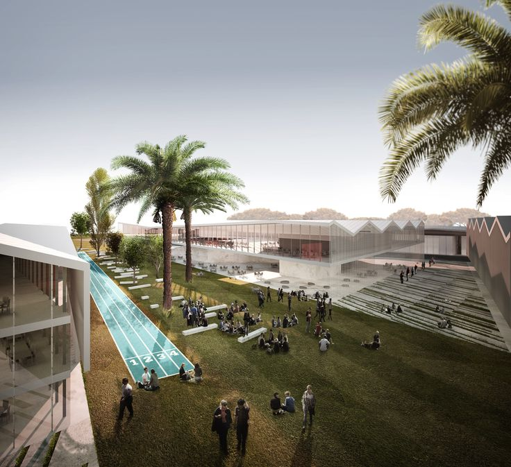 Gallery of Inter National Design Win Competition with Modular School Complex - 6