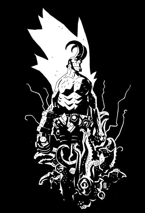 Mignola... Hellboy... B.P.R.D.... love it!
