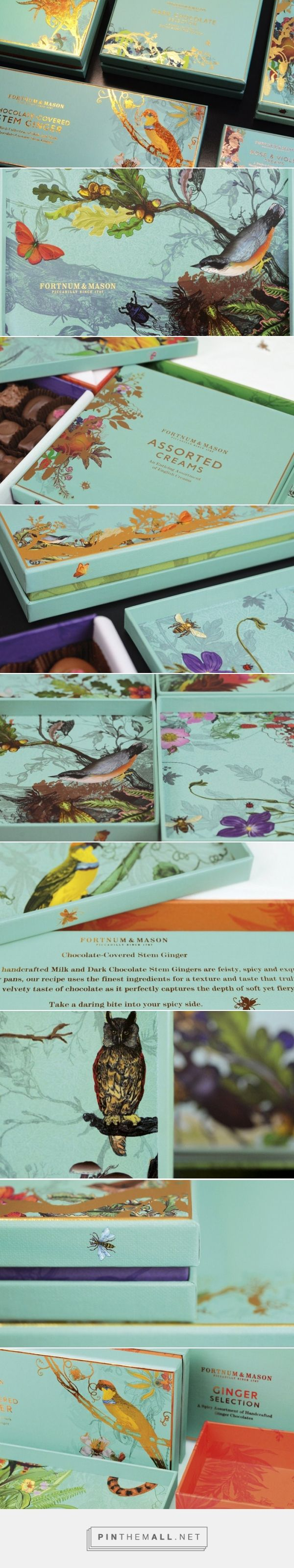 Design Bridge Work on Fortnum & Mason get ready for some chocolate #packaging love curated by Packaging Diva PD