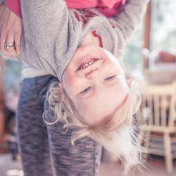 Brooke Wedlock Photography - Get silly. Be happy! It's Sunday :) #toddler #familyphotographer #portraitphotographer #torontophotograher #naturallight