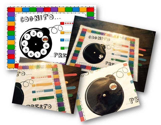 Cognito...presto : plateau de jeux et cartes dans toutes les matières