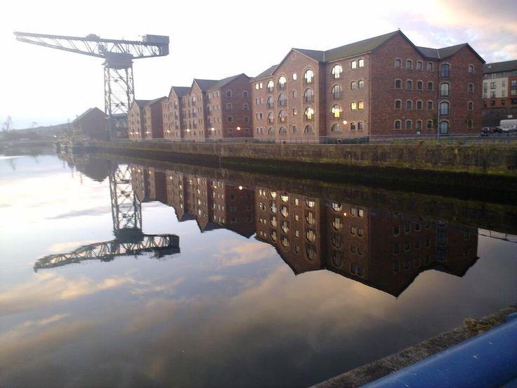 Greenock Scotland i think may be last crane from ship building days