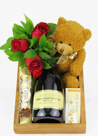 MCC with Roses, Nougat and a Teddy