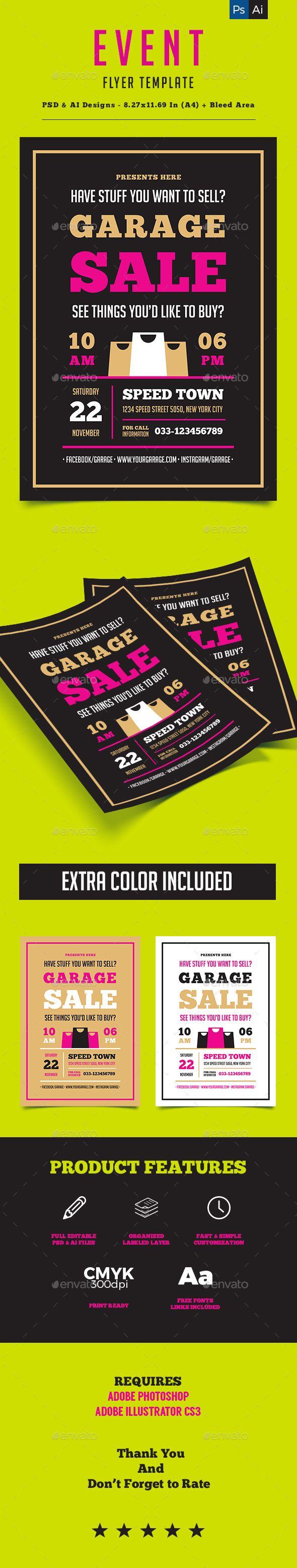 garage flyer creative project flyers and garage garage flyer