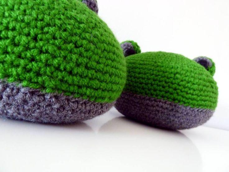 Crochet pufs