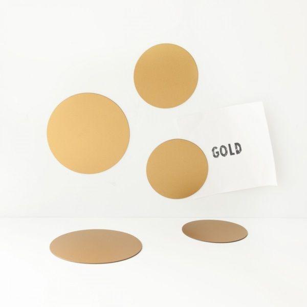Groovy Magnets Magneetset Cirkels - Goud