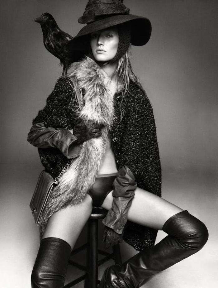 Toni Garnn By greg Kadel For Numero France #128: Tony Garrn, Studios Portraits, Inspiration, Greg Kadel, Fashion Photography, Feathers, Gregkadel, Birds, Ravens