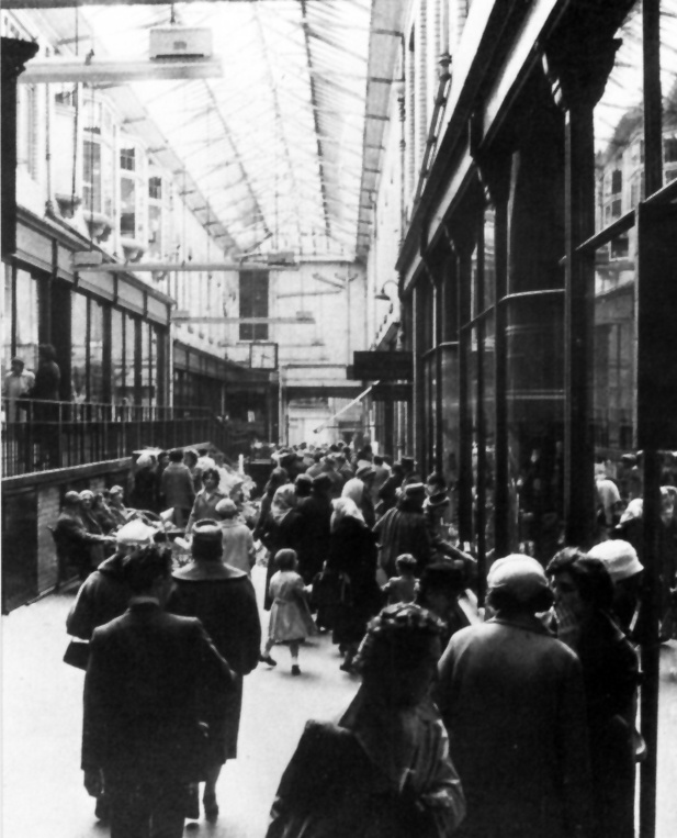 Northern Cooperative Society Loch Street Arcade. An architectural gem, demolished to make way for Norco House (now John Lewis) and later, the BonAccord Centre car park.