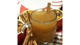 This traditional holiday drink is indispensable to those who covet the ubiquitous fireside family gatherings on cold winter evenings. This recipe uses an automatic coffee maker to brew the cider. If you don't own one, heat it in a saucepan over medium heat on the stovetop. Grab your mugs and dive into this hot drink!