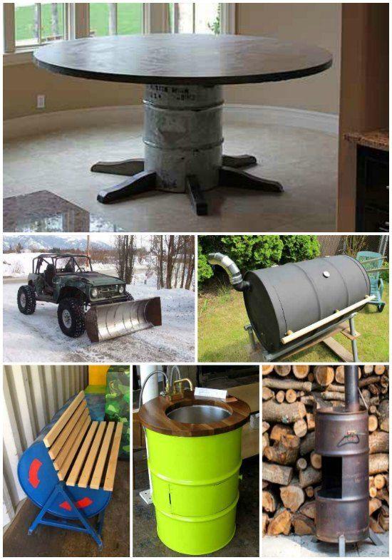 18 Genius Homestead Uses For 55 Gallon Metal Barrels
