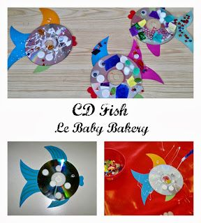 Le Baby Bakery: CD Fish Craft