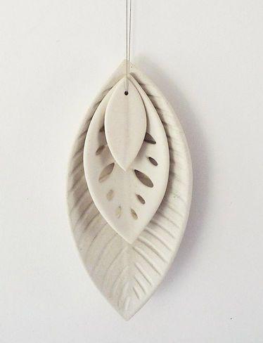 Renee Boyd Ceramic 3 leaf