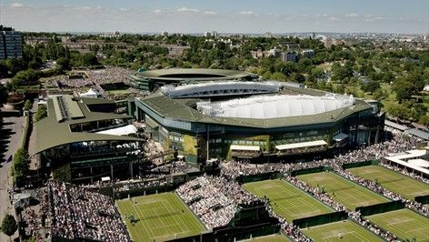 Home of the All England Lawn Tennis and Croquet Club and The Championships