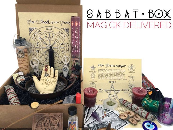 Sabbt Box-A Pagan subscription box, delivered to you each sabbat. Discover magical products that will aid you down your spiritual path. http://www.sabbatbox.com || OMG I need it. If only I had money...