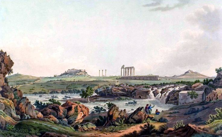 Edward Dodwell (1767-1832)-Ο ναός του Ολυμπίου Διός