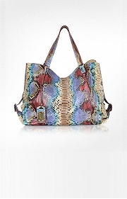 Ghibli    Large Python Leather Tote.....nice....