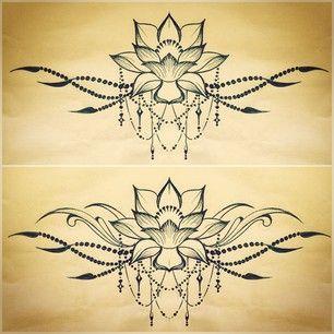 underboob tattoo design - Google Search