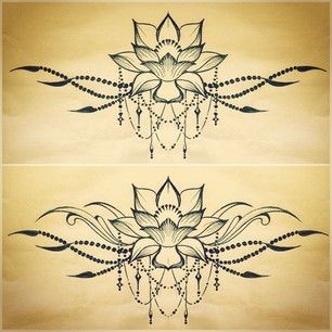 They said it's an under on tattoo, but I can see it on the upper back or a shoulder piece