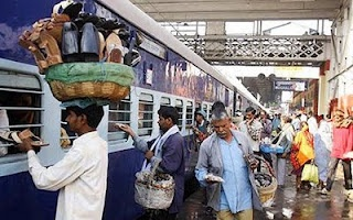 Indian train station...the inconvenience is most regretted.