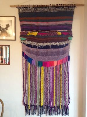 weaving by Beatrice Valenzuela