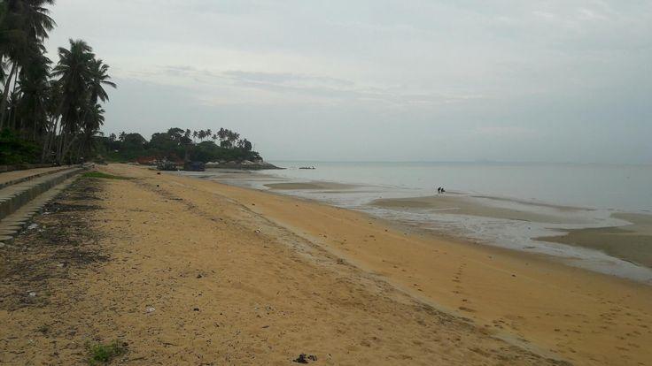 Pantai Pasir Kuning Menyimpan Daya Tarik Wisata dan Tradisi - Kepulauan Bangka Belitung