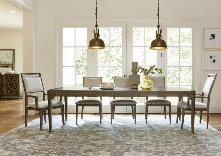 Platinum Dining Set At Morris Home