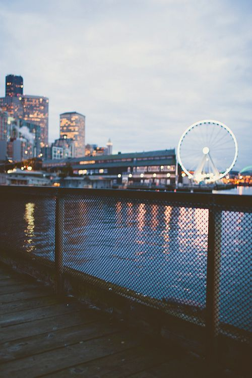 Ooooh Seattle. It's hard not to love this city.