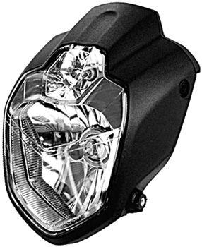 LSL MT03 Style URBAN Motorcycle Headlight, E-marked Without Brackets